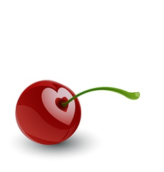 Cherry Love vector image vector image