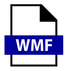 file name extension wmf type vector image
