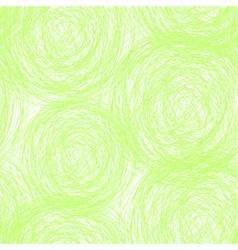 green scribble seamless pattern vector image vector image