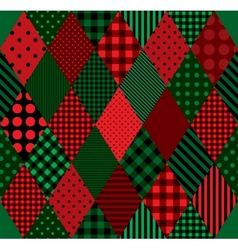 Patchwork colors harlequin vector
