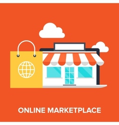 Online marketplace vector