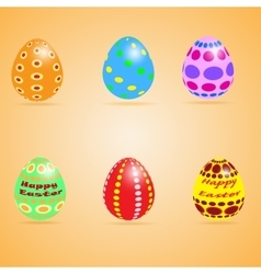 Funny Eater Eggs vector image