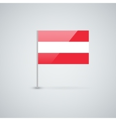 Austrian flag vector