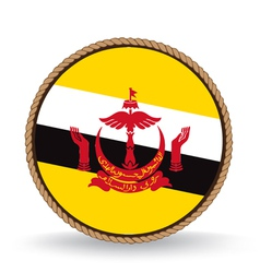 Brunei seal vector