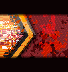 digital camouflage background vector image