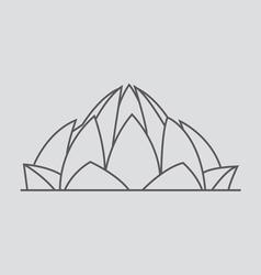 New delhi vector