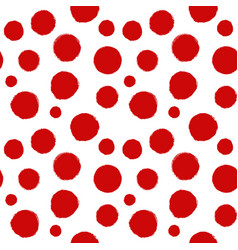 seamless pattern of spots 3 vector image vector image
