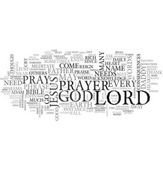 Where are you lord text word cloud concept vector