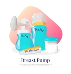 Goods for expression of breast milk vector