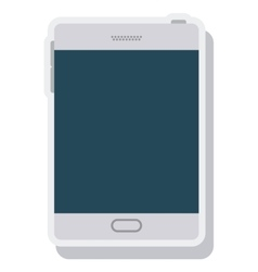 Tablet technology isolated icon vector