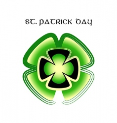 St Patrick's day symbol vector image