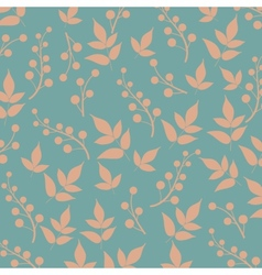 Colored pattern on leaves theme autumn pattern vector