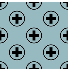 Pale blue medical pattern 2 vector