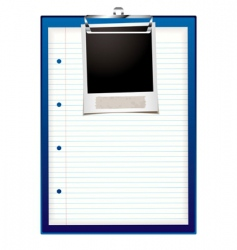 clip board photo vector image