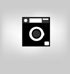 Icon laundry vector