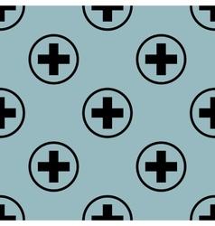 Pale blue medical pattern 2 vector image