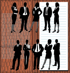 business people1 vector image