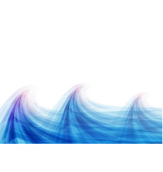 Blue wave abstract vector