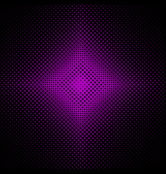 Halftone circle pattern background vector