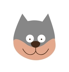 Cartoon animal icon image vector