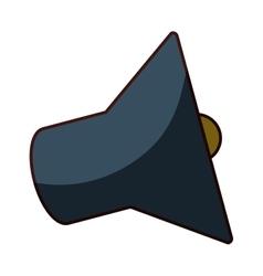 Megaphone loudspeaker icon image vector