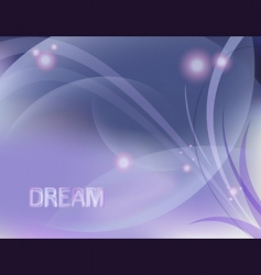 Dreamy design vector