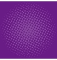 Dots on dark purple background pop art background vector