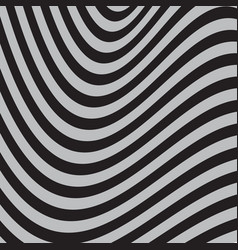 Black and white abstract striped background vector
