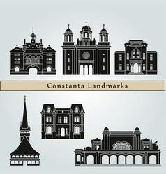 Constanta landmarks vector