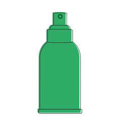 cosmetic bottle spray dispenser icon image vector image