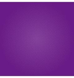 Dots on Dark Purple Background Pop Art Background vector image vector image