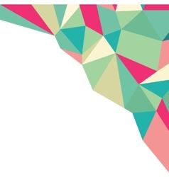 Geometric polygonal pattern background texture vector