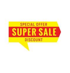 Special offer sign vector