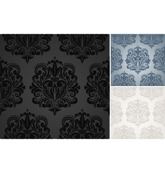 Beautiful damask pattern vector