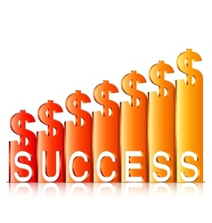 Money Success Concept vector image