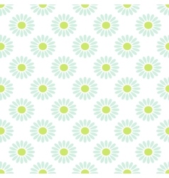 Daisy chamomile seamless pattern vector
