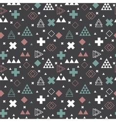 Geometric scandinavian seamless pattern tribal vector