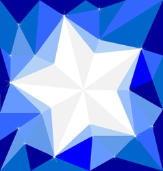 Star on background white cool wallpapers vector