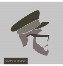 Icon man in a headdress vector