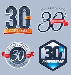 30 years anniversary logo vector