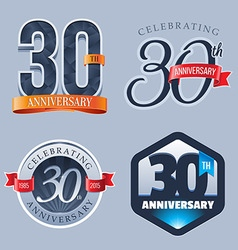 30 years anniversary logo vector