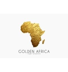 Africa golden africa logo creative africa logo vector