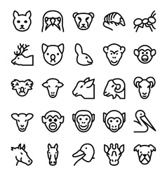 Animals and birds-5 vector