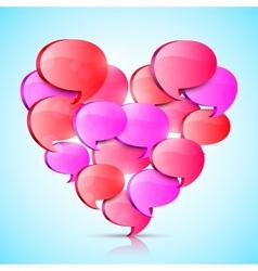 Big Love Heart vector image vector image