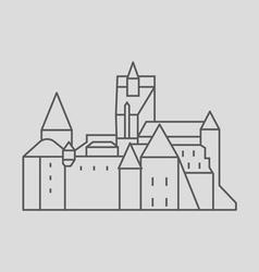 Bran castle vector