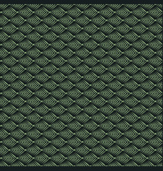 Geometric mosaic pattern from green triangle vector