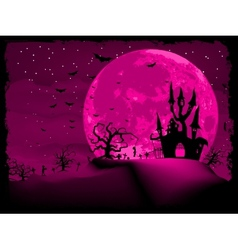 Halloween invitation vector image vector image