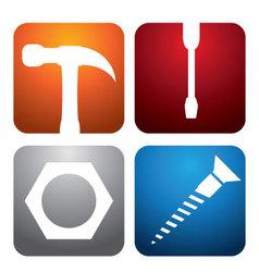 hardward-logos vector image vector image