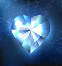 frozen heart vector image
