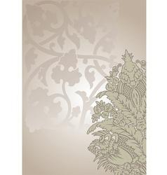 Ornate floral vector